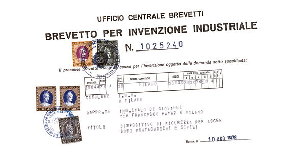 One of the first IGV industrial patents