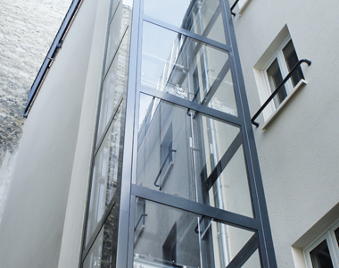 Residential elevators and small lifts for condos