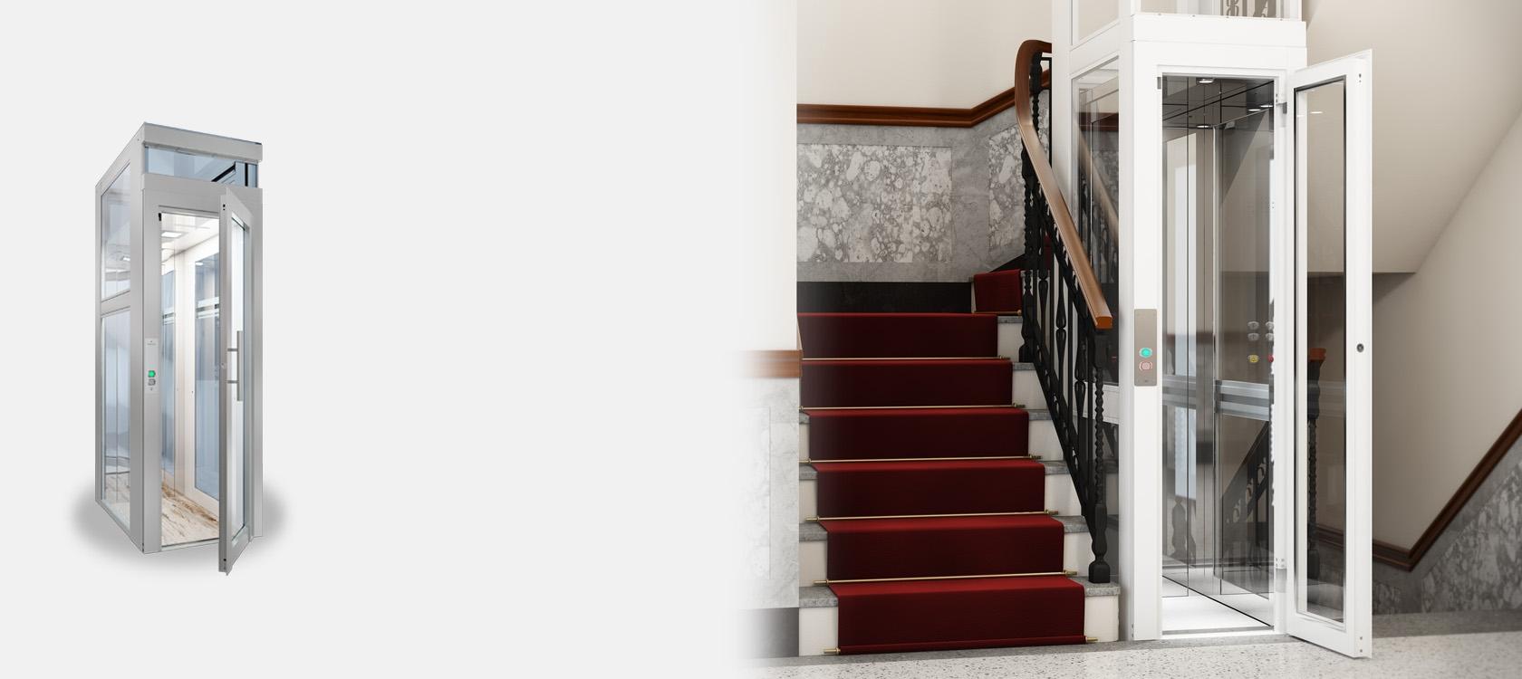 Home lifts domestic lifts and residential lifts domuslift - Ascensori da esterno prezzi ...